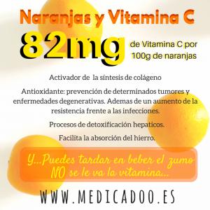 Naranjas yVitamina C